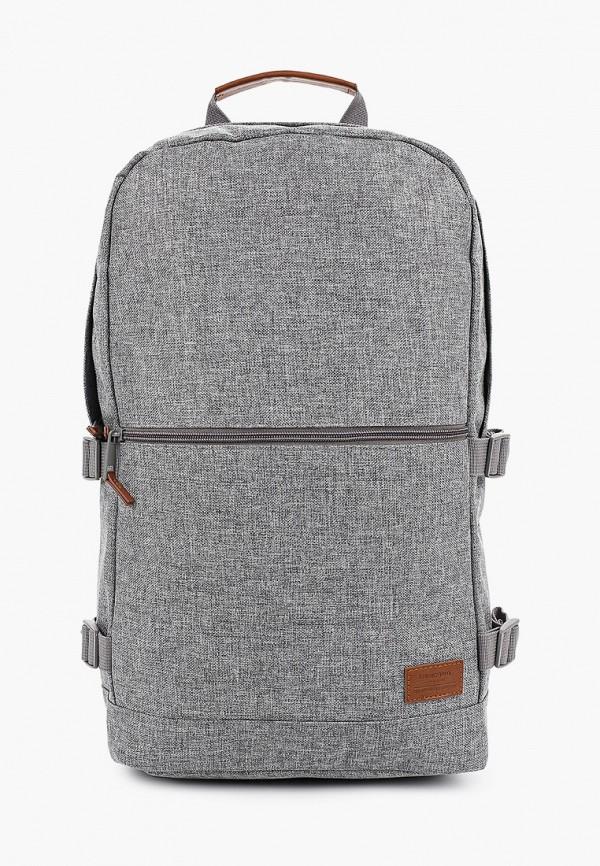 Springfield   Мужской серый рюкзак Springfield   Clouty