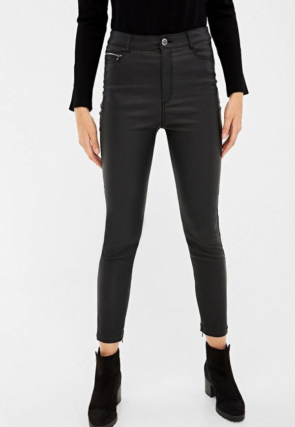Springfield   черный Женские черные брюки Springfield   Clouty