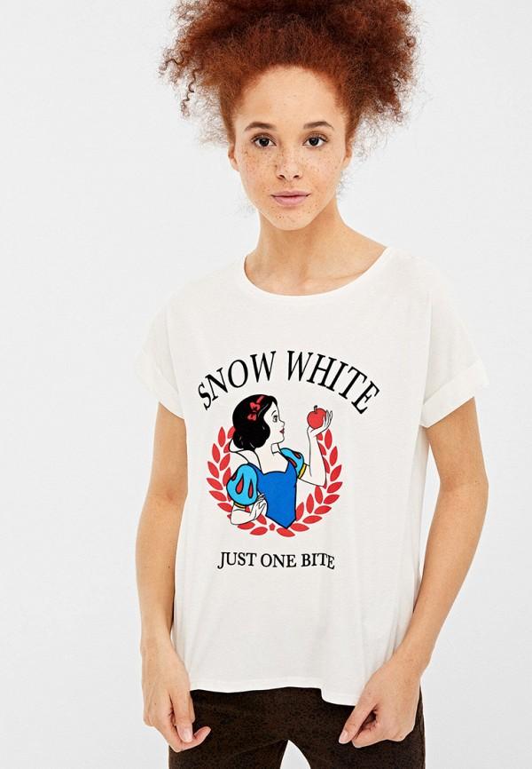 Springfield | белый Футболка Springfield | Clouty