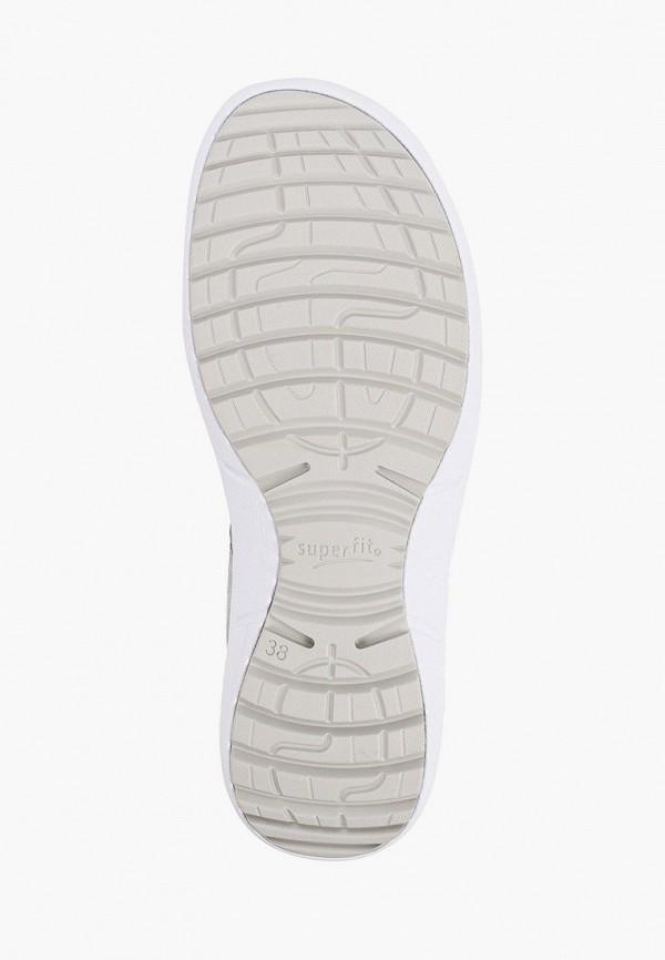 Superfit   серый Летние серые сандалии Superfit для девочек   Clouty