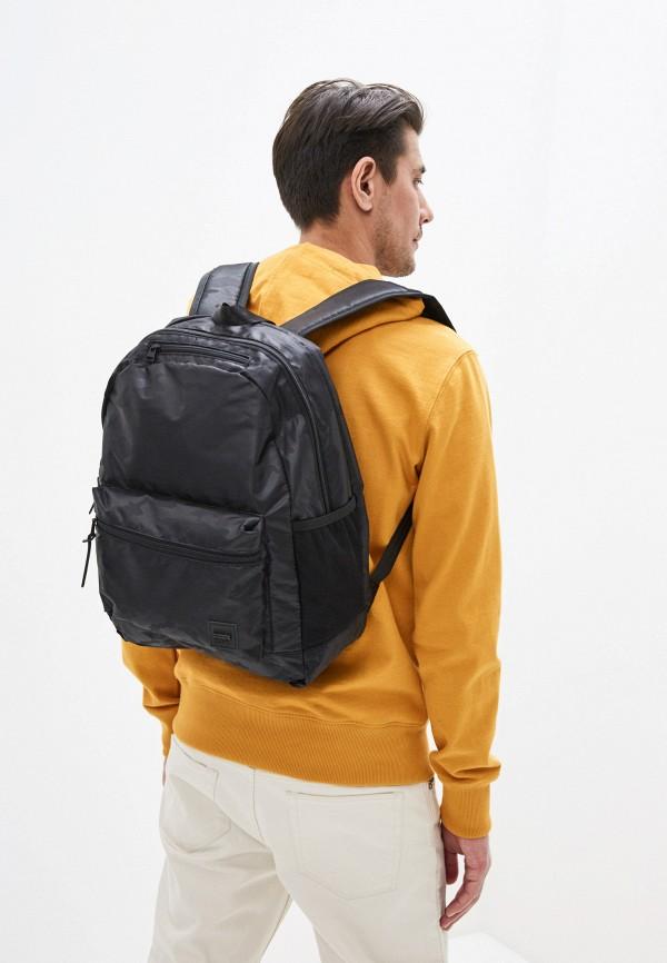 Superdry | Мужской черный рюкзак Superdry | Clouty
