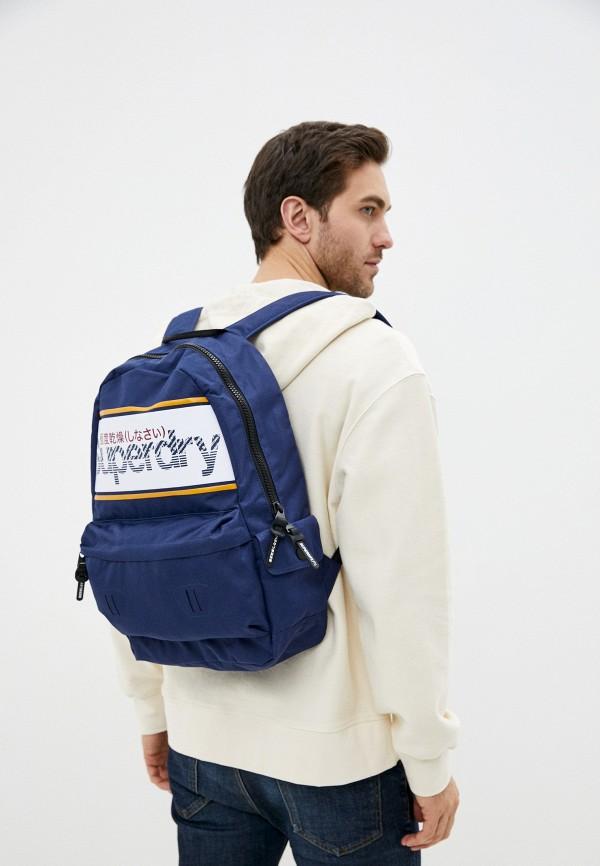Superdry | синий Рюкзак Superdry | Clouty