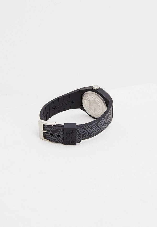 Superdry | черный Черные часы Superdry | Clouty