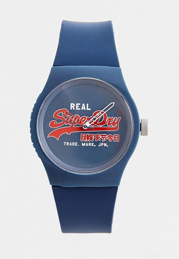 Superdry   синий Часы Superdry   Clouty