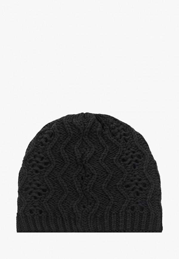 Tamaris | черный Женская зимняя черная шапка Tamaris | Clouty