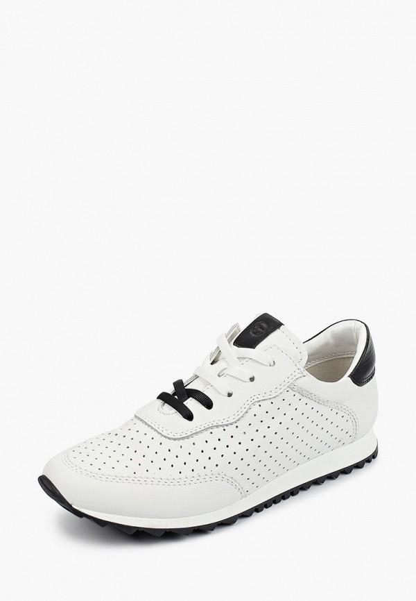 Tamaris | белый Женские белые кроссовки Tamaris резина | Clouty