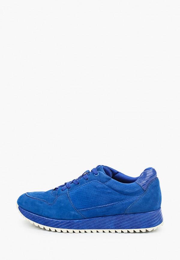 Tamaris | синий Женские синие кроссовки Tamaris искусственный материал | Clouty