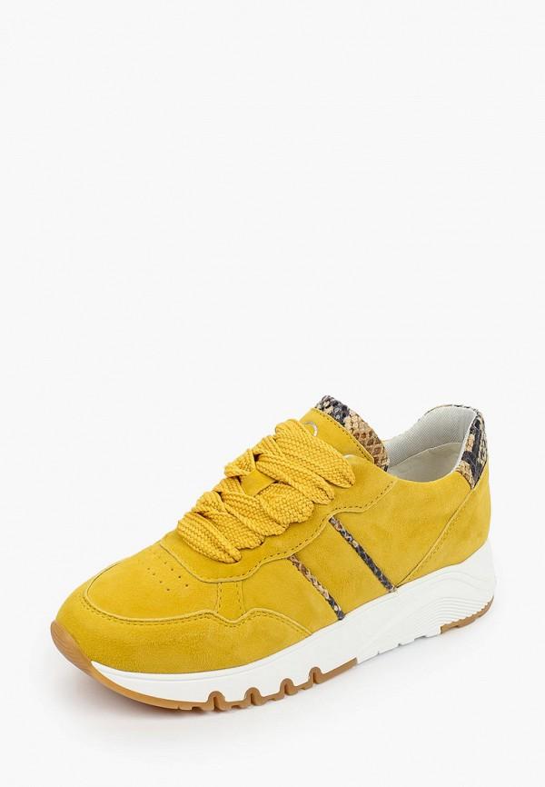 Tamaris | желтый Женские желтые кроссовки Tamaris | Clouty