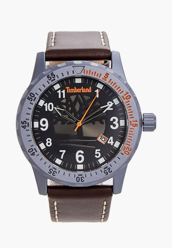 Timberland | коричневый Мужские коричневые часы Timberland | Clouty