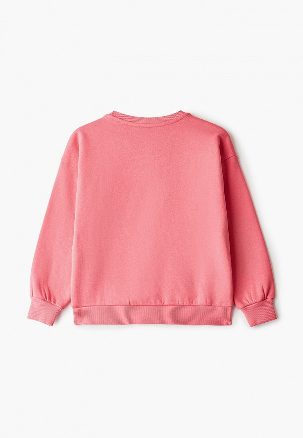 Tiffosi | Розовый свитшот Tiffosi для девочек | Clouty