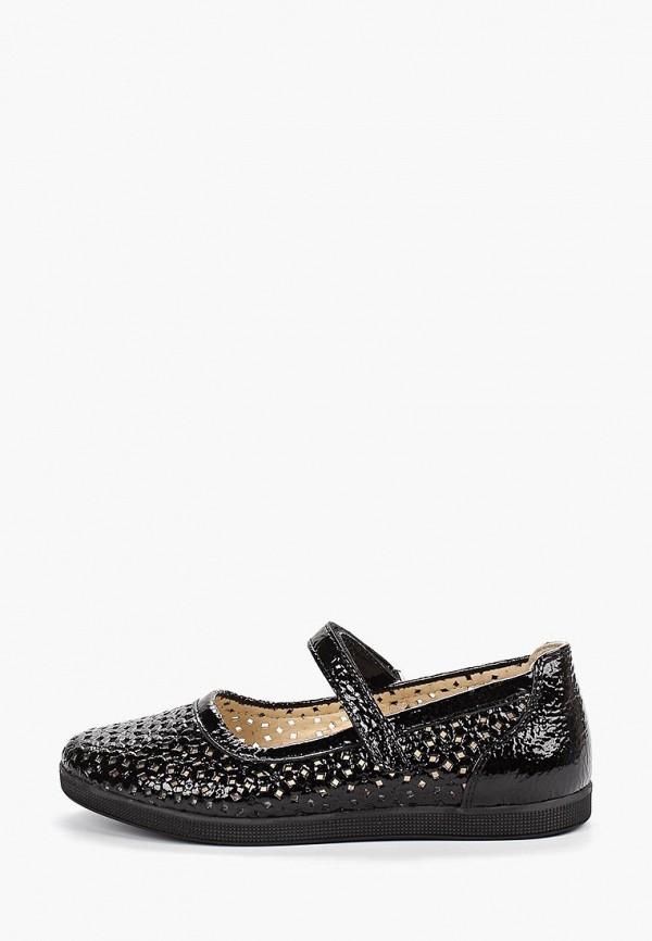 Tiflani | черный Черные туфли Tiflani резина для девочек | Clouty
