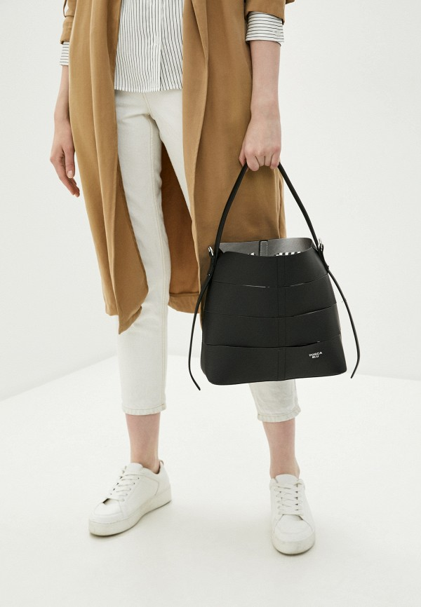 Tosca Blu   черный, мультиколор Женская сумка Tosca Blu   Clouty