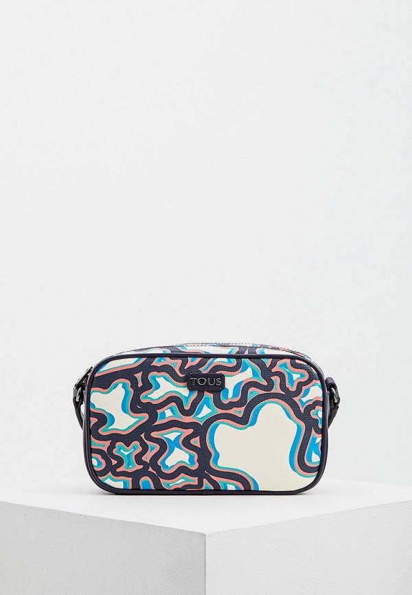 Tous | синий Женская синяя сумка Tous | Clouty