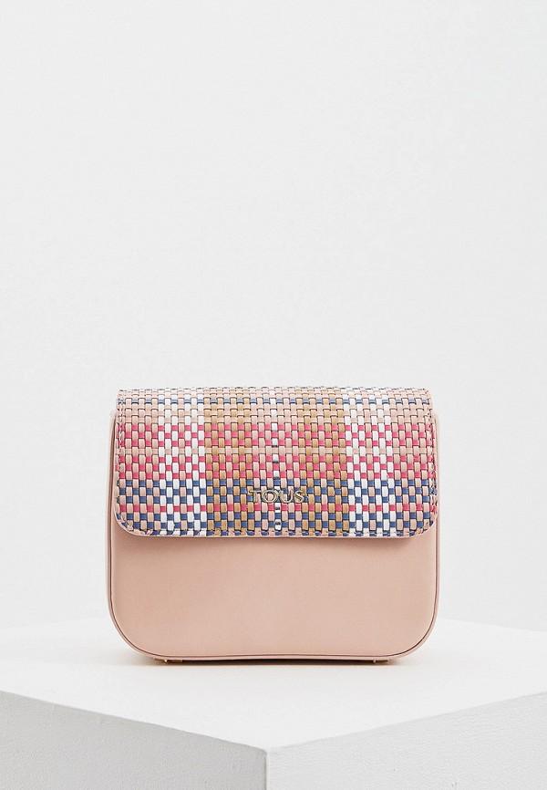 Tous | розовый Женская розовая сумка Tous | Clouty
