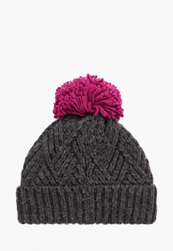 TOPSHOP | серый Женская зимняя серая шапка TOPSHOP | Clouty