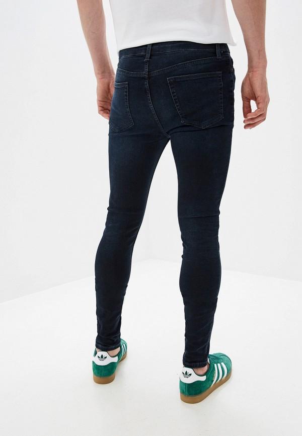 Topman | синий Мужские синие джинсы Topman | Clouty