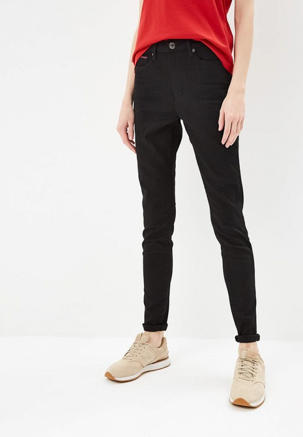 TOMMY Jeans | черный Женские черные джинсы TOMMY Jeans | Clouty
