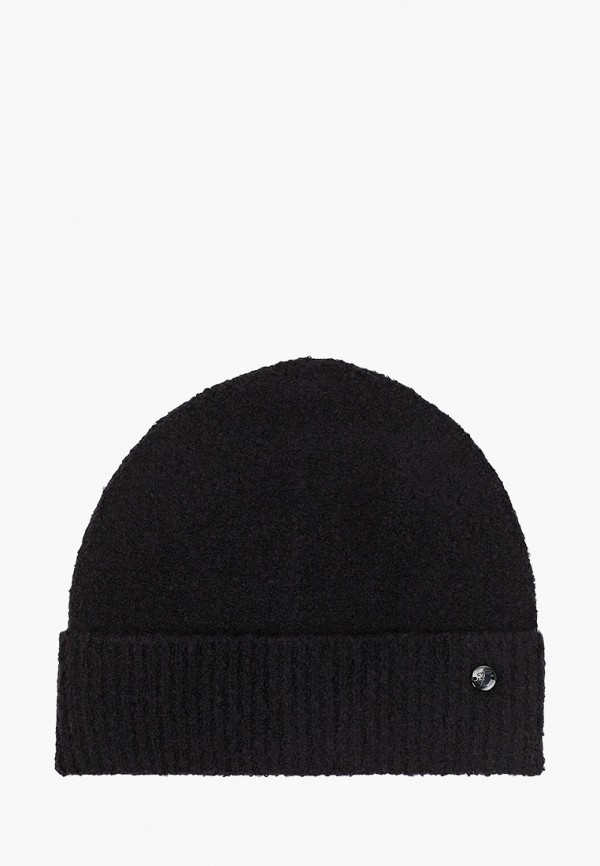 TOM TAILOR   черный Женская черная шапка TOM TAILOR   Clouty