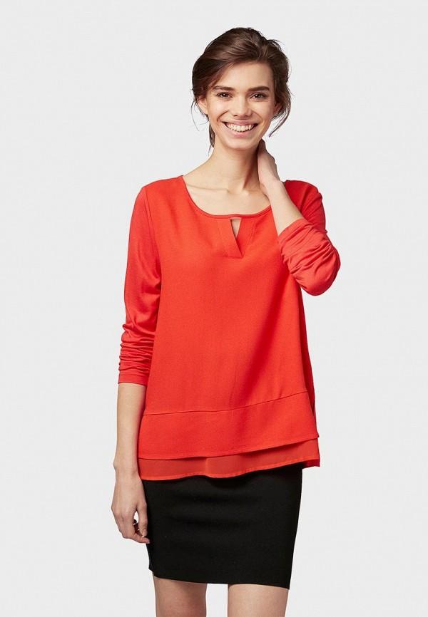 TOM TAILOR | красный Блуза | Clouty
