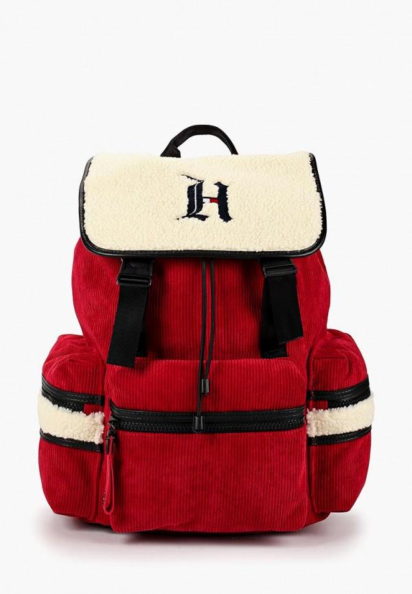 TOMMY HILFIGER | Мужской красный рюкзак TOMMY HILFIGER | Clouty