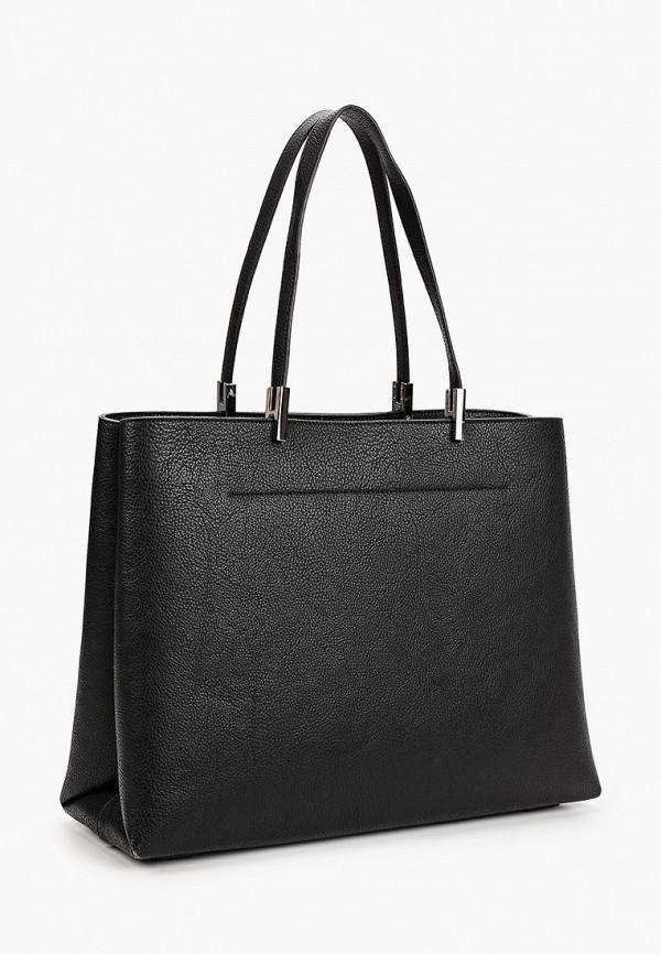 TOMMY HILFIGER | черный Женская черная сумка TOMMY HILFIGER | Clouty
