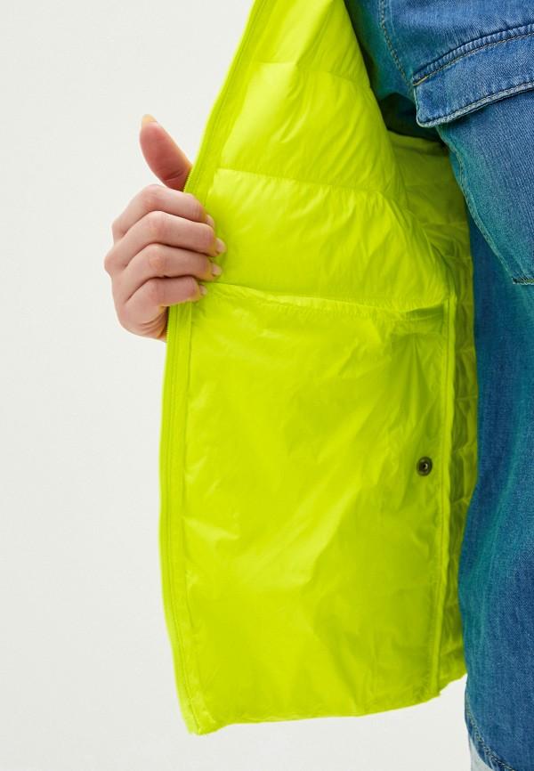 TOMMY HILFIGER | желтый Куртка утепленная Tommy Hilfiger | Clouty