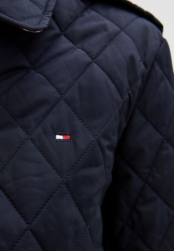 TOMMY HILFIGER | синий Женская синяя утепленная куртка TOMMY HILFIGER | Clouty