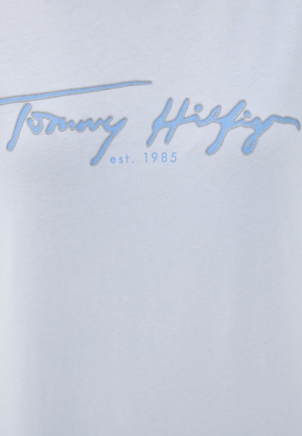 TOMMY HILFIGER | голубой Футболка Tommy Hilfiger | Clouty