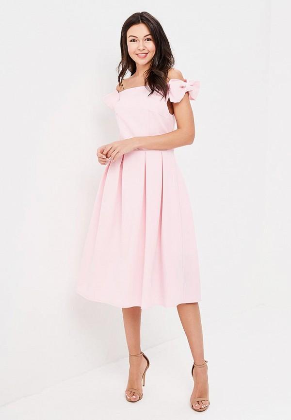 Trendyangel | розовый Розовое платье Trendyangel | Clouty