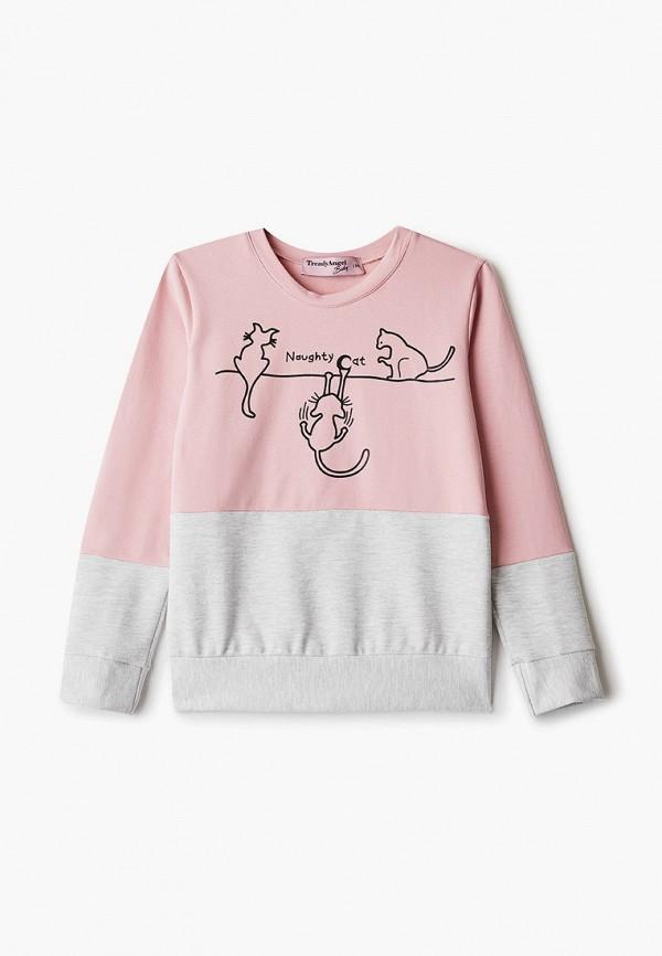 TrendyAngel Baby | розовый Свитшот TrendyAngel Baby | Clouty
