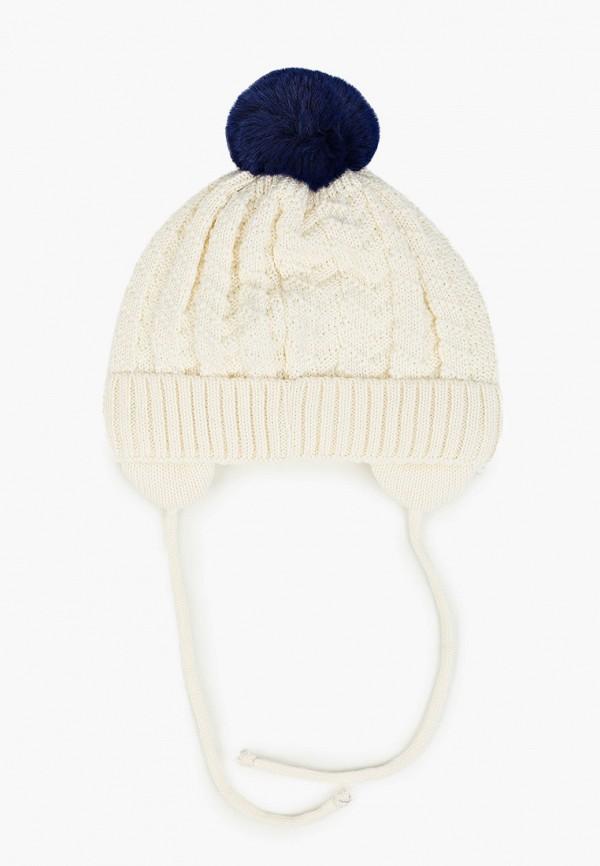 TuTu | белый, синий Зимняя шапка TuTu для девочек | Clouty