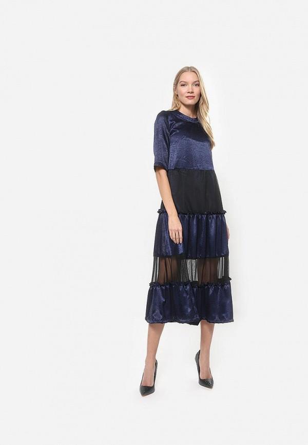 Tutto Bene | синий Синее платье Tutto Bene | Clouty