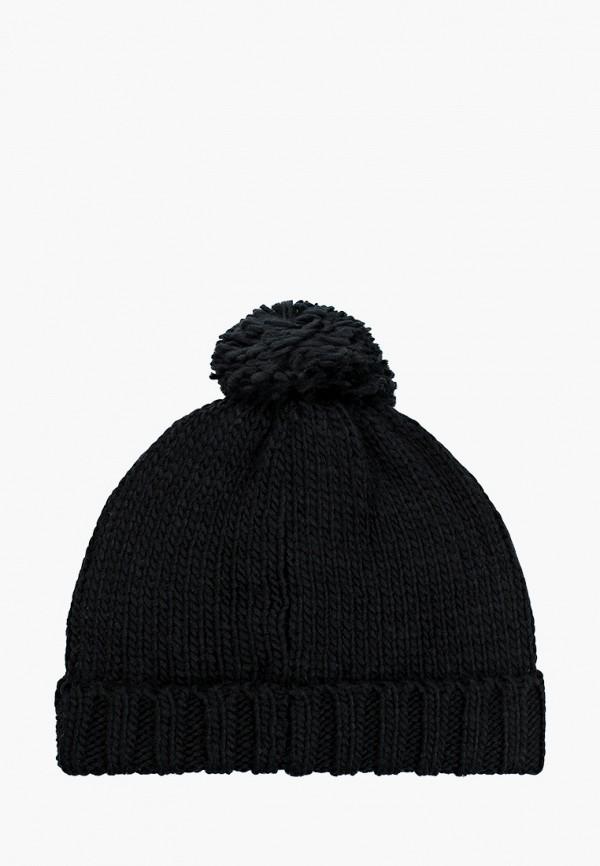 Twinset | черный Зимняя черная шапка Twinset для девочек | Clouty
