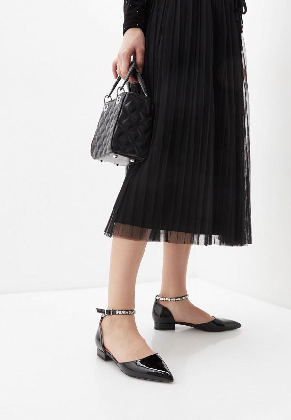 Twinset | черный Черные туфли Twinset резина | Clouty