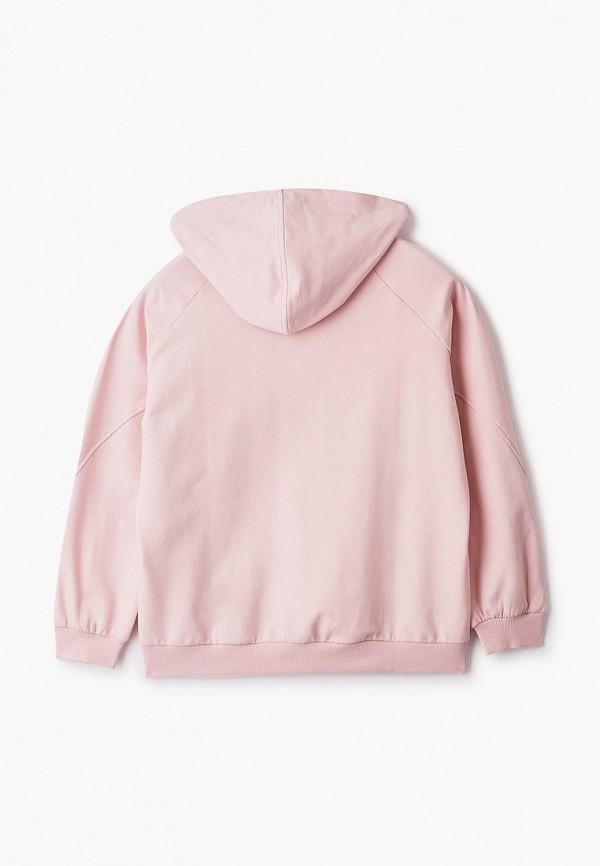 Twinset | розовый Розовые худи Twinset для девочек | Clouty