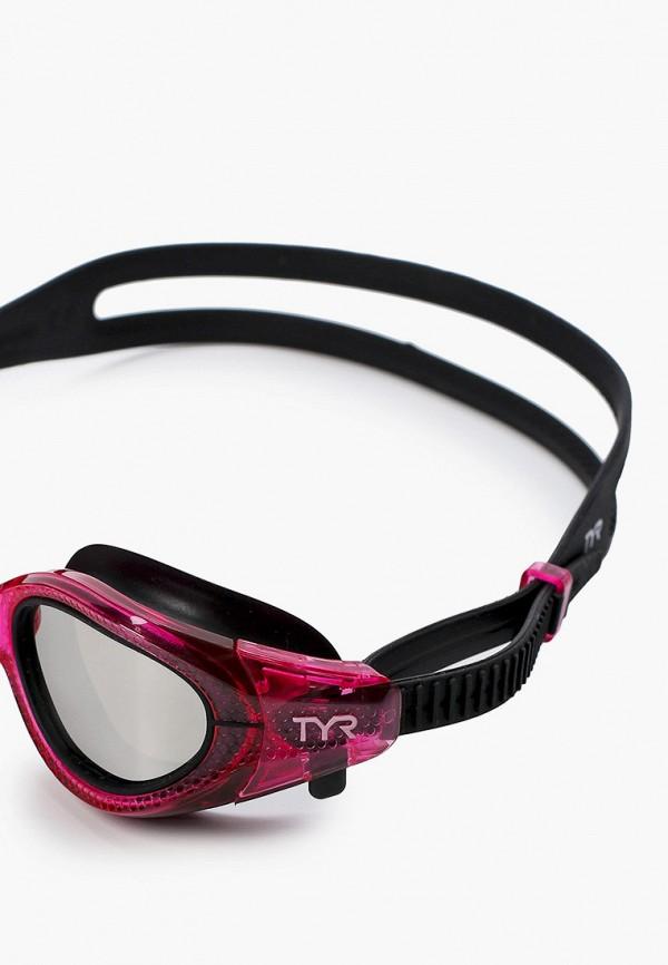 TYR   розовый Женские розовые очки для плавания TYR   Clouty