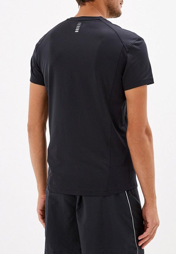 Under Armour | черный Мужская черная спортивная футболка Under Armour | Clouty