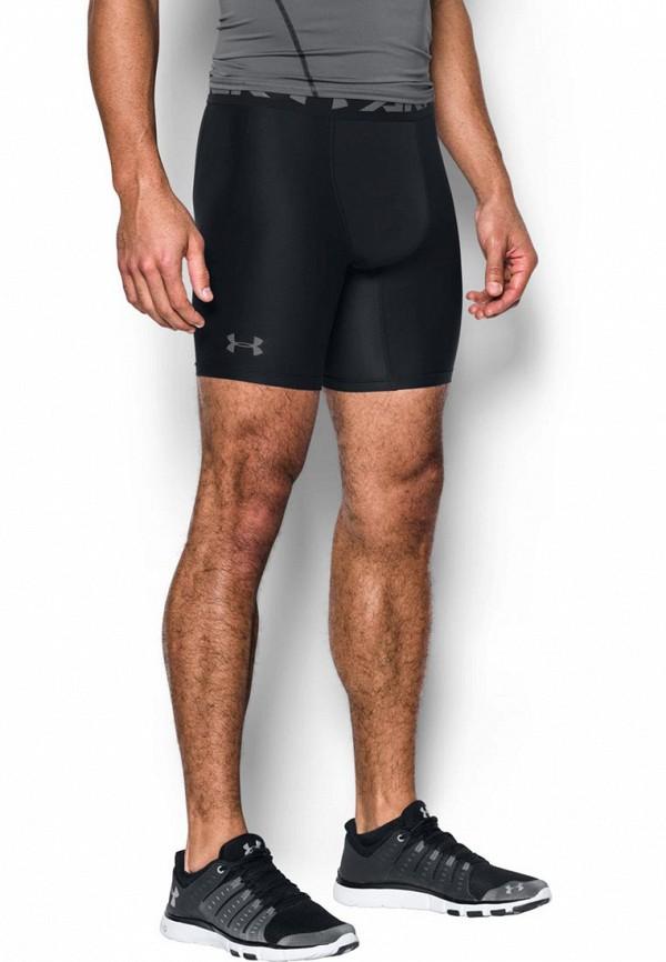 Under Armour | черный Мужские черные компрессионные шорты Under Armour | Clouty