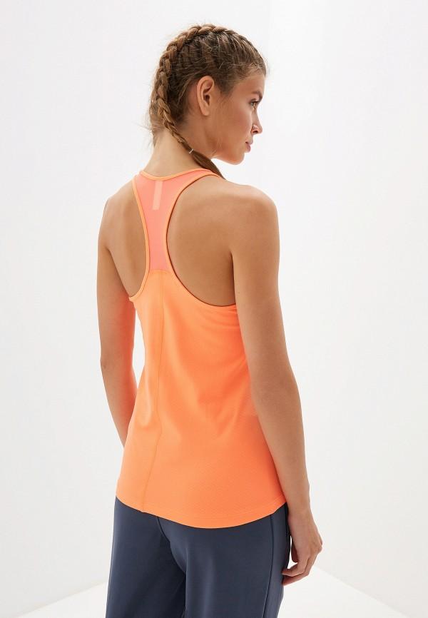 Under Armour | оранжевый Женская оранжевая спортивная майка Under Armour | Clouty