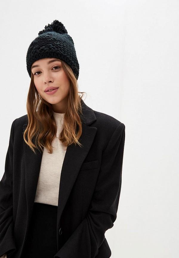 United Colors of Benetton | черный Женская зимняя черная шапка United Colors of Benetton | Clouty