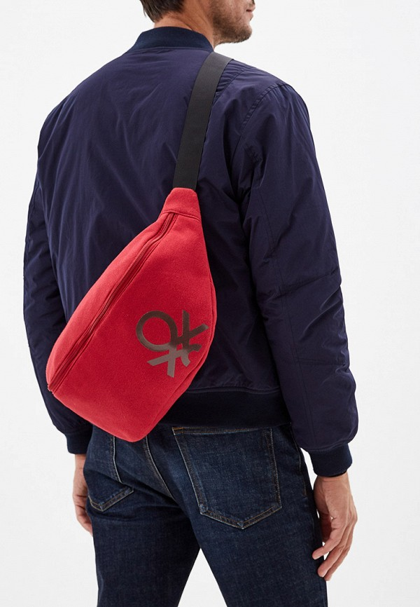 United Colors of Benetton | красный Красная поясная сумка United Colors of Benetton | Clouty