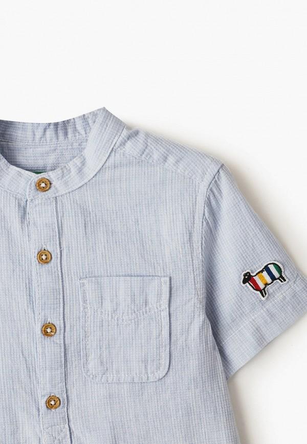 United Colors of Benetton | голубой Рубашка United Colors of Benetton | Clouty