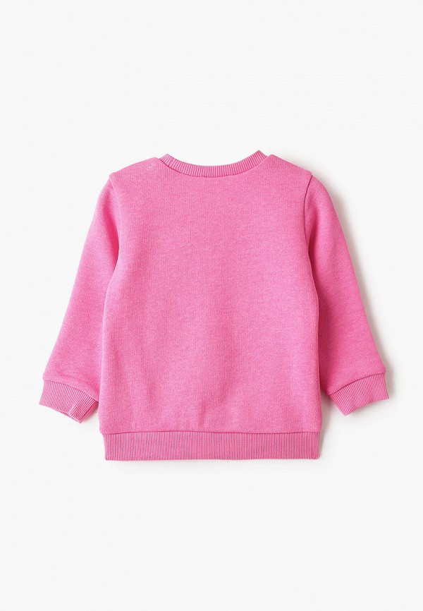 United Colors of Benetton | Розовый свитшот United Colors of Benetton для девочек | Clouty