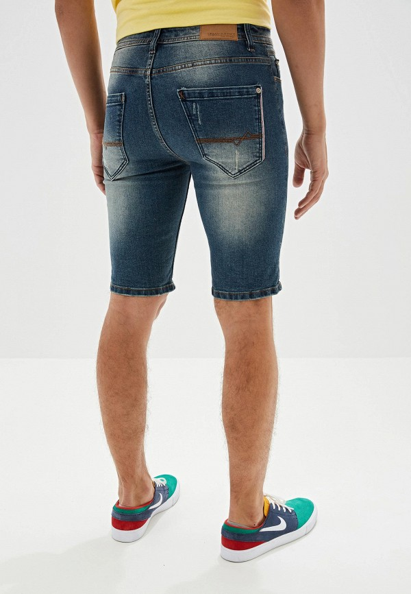 Urban Surface   синий Мужские летние синие джинсовые шорты Urban Surface   Clouty