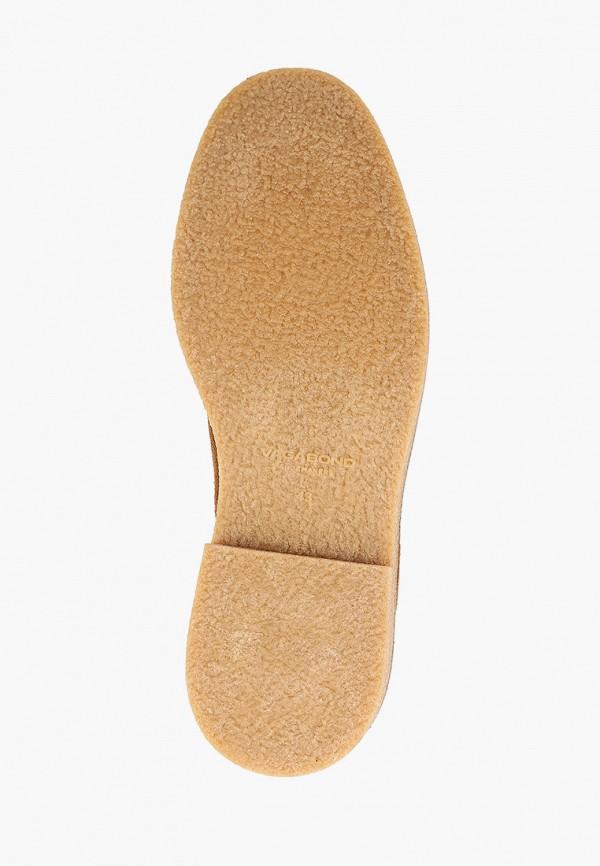 Vagabond | коричневый Мужские коричневые ботинки Vagabond резина | Clouty