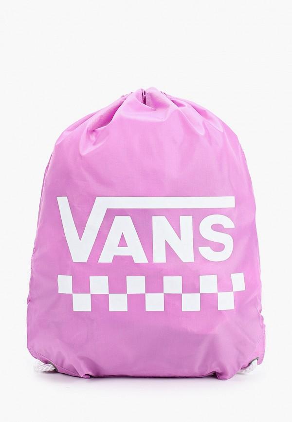 VANS | Женский розовый мешок VANS | Clouty