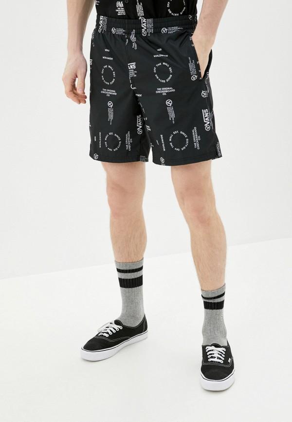 VANS | черный Мужские летние черные шорты VANS | Clouty