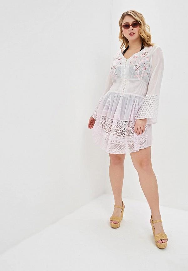 Venera | розовый Летнее розовое пляжное платье Venera | Clouty