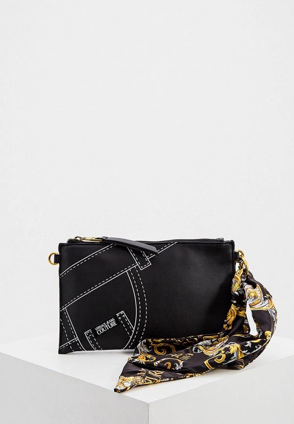 Versace Jeans   черный Сумка Versace Jeans Couture   Clouty