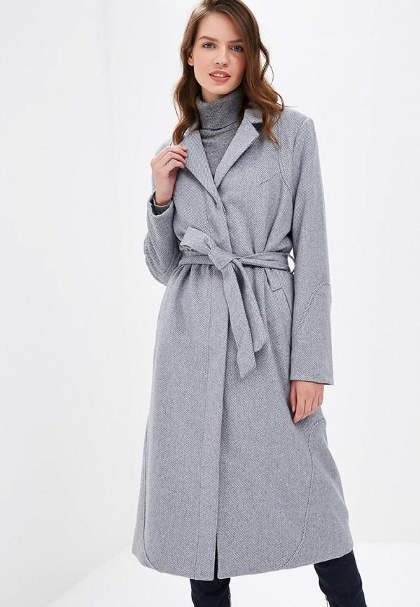 Vila | серый Женское зимнее серое пальто Vila | Clouty